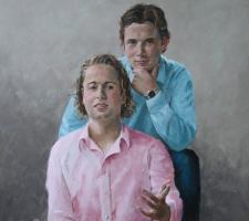 Michiel en Bas van Schravendijk