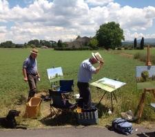 In navolging van Cézanne, Mont Sainte-Victoire