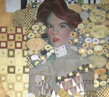 Caroline, Adele Bloch Bauer in Gustav Klimt