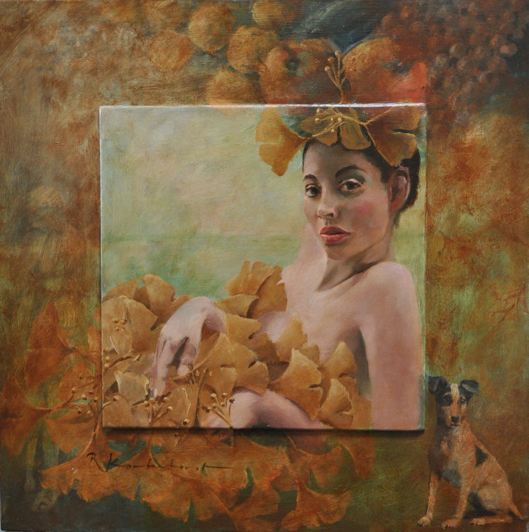 Enticement 2 Oil on panel, 60 x60 cm €2.300