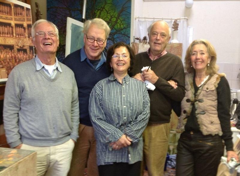 Evert, Hendrik, Aldi, Jochem, Marja Ruys - De Lusanet de la Sabloniere
