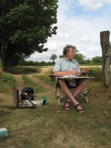 rudolf kortenhorst, artist, portretschilder, portrait painter, frankrijk, vrij werk, natuur a